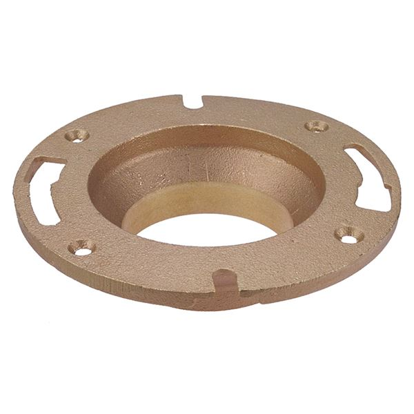 Material e dwv closet flange c cast on nibco