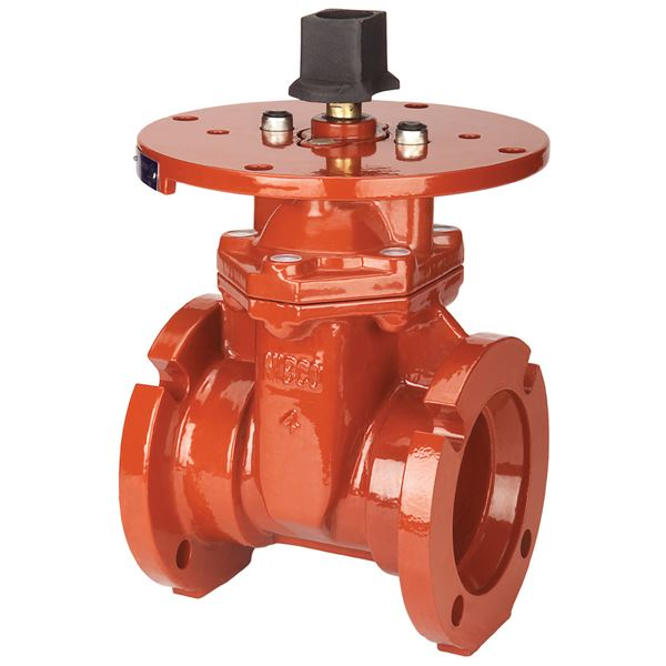 M rws gate valve ductile iron fire protection