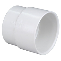 Soil Pipe Adapter H x H - PVC DWV, 4800