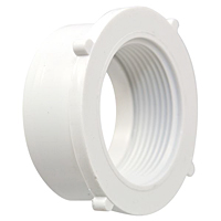 Female Flush Adapter Spg x FIPT - PVC DWV, 4803-2-F