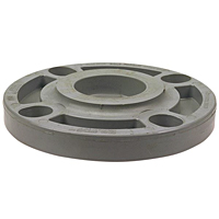 Blind Flange - Corzan® CPVC Schedule 80, One-Piece Webbed Design, 5119-W