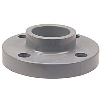 Thread Flange - Corzan® CPVC Schedule 80, One-Piece Solid Design, 5151-H-3