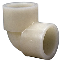 Socket 90° Elbow S x S - Kynar® Natural PVDF Schedule 80, 6607