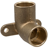 90° Drop Elbow C x C - Performance Bronze™, 707-5-LF