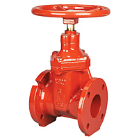 Gate Valve - Ductile Iron, Irrigation, Resilient Wedge, FM-619-RWS