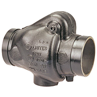 "Check Valve - Iron, Fire Protection, Reliable ""G"" Series, G-917-W"