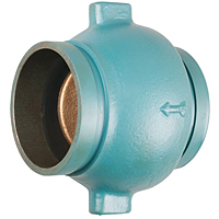 Check Valve - Lead-Free*, Cast Iron, Silent, Grooved, G-920-W-LF