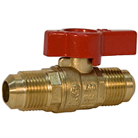 Gas Ball Valve - Flare x Flare, Lever Handle, GBVA38FL