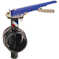 GD-4775 Butterfly Valve - Ductile Iron, Grooved, 300 PSI, Handle