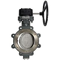 High Performance Butterfly Valve - Carbon Steel Body, 740 PSI, LCS-7822