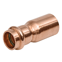 PC600-2 Fitting Reducer Ftg x P – Wrot Copper