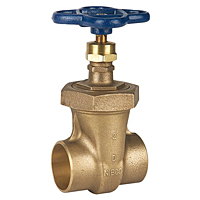 Gate Valve - Bronze, Non-Rising Stem, Bolted Bonnet, Threaded, S-136 Large Diameter