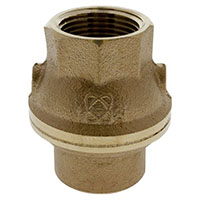 T-480-Y-LF Check Valve - Lead-Free*, Resilient Disc, Threaded