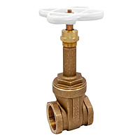 T-111-LF Gate Valve – Lead-Free*, Rising Stem, Threaded Ends