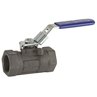 One-Piece Carbon Steel Ball Valve - Reduced Port, Fire Safe, T-560-CS-R-25-FS-LL