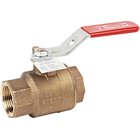 Two-Piece Bronze Ball Valve - Steam Service, T-585-70-66-ST