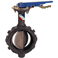 Butterfly Valve - Ductile Iron, Wafer Type, Stainless Steel Disc, WD-3222