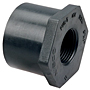 Flush Spigot x Thread Reducer Bushing Spg x FPT - PVC Schedule 80, 4518-3
