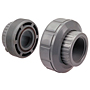 EPDM Female Adapter Union S x FPT - Corzan® CPVC Schedule 80, 5133E-3