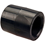 Female Adapter Coupling S x FPT - Black Polypropylene Schedule 80, 6103