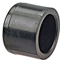 Socket Cap S - Black Polypropylene Schedule 80, 6117