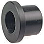 Flush Socket Reducer Bushing Spg x S - Black Polypropylene Schedule 80, 6118