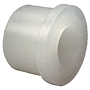 Flush Socket Reducer Bushing Spg x S - Chem-Pure® Natural Polypropylene Schedule 80, 6218