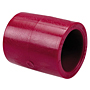 Socket Coupling S x S - Kynar® Red PVDF Schedule 80, 6501