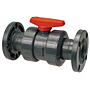 Ball Valve - Flanged, Tru-Bloc® True Union, PVC Schedule 80, EPDM, F45TB-E