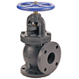 Angle Valve - Cast Iron, Class 125, Bronze Trim, F-818-B