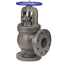Angle Valve - Steam Stop-Check, Cast Iron, F-869-B