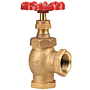Angle Valve - Bronze, Fire Protection, Rubber Disc, KT-67-UL