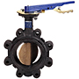 Butterfly Valve - Cast Iron, 200 PSI, EPDM Seat, LC-2000
