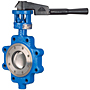 LCS-7822 High Performance Butterfly Valve - Carbon Steel Body, 740 PSI, Handle