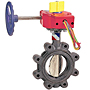 Butterfly Valve - Ductile Iron, Sprinkler System, UL Listed, LD-3510