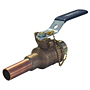 Ball Valve - Bronze, 200 PSI, Hose Connection, PS585-70-HC