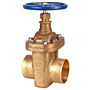 S-136 Large Diameter Gate Valve – Bronze, Non-Rising Stem, Bolted Bonnet, Threaded