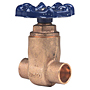 Gate Valve - Bronze, Full Port, Compact Design, Solder Ends, S-29