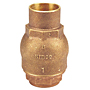Check Valve - Ring Check®, Bronze, Solder Ends, S-480