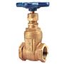 Gate Valve - Bronze, Non-Rising Stem, Threaded, T-113