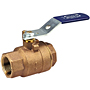 Two-Piece Bronze Ball Valve - Stainless Steel Trim, Threaded End Connections, T-585-70-66