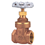 Gate Valve - Brass, Full Port, Threaded Ends, TI-8
