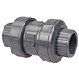 Ball Check Valve - Socket, True Union, PVC Schedule 80, EPDM, S45BC-E