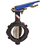 Butterfly Valve - Ductile Iron, Wafer Type, 100 PSI, Actuated, WD-L110