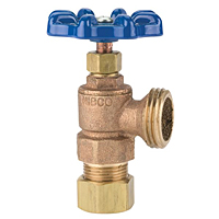 Boiler Drain - Transition, Compression to Hose, 4464