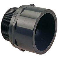 Male Adapter S x MPT - PVC Schedule 80, 4504