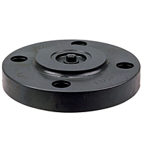 Blind Flange - PVC Schedule 80, One-Piece Solid Design, 4519-H