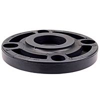 Blind Flange - PVC Schedule 80, One-Piece Webbed Design, 4519-W