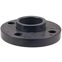 Socket Flange S - PVC Schedule 80, Two-Piece Van Stone, 4551-A
