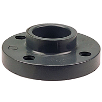 Socket Flange S - PVC Schedule 80, One-Piece Solid Design, 4551-H
